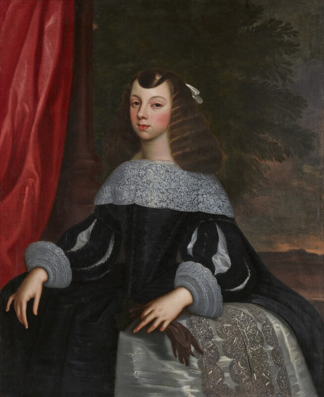 Catherine of Braganza, by or after Dirk Stoop, circa 1660-1661 - NPG 2563 - © National Portrait Gallery, London