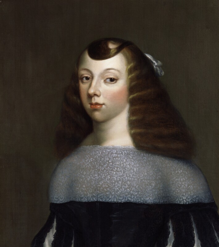 Catherine of Braganza, after Dirk Stoop, based on a work of circa 1660-1661 - NPG 353 - © National Portrait Gallery, London
