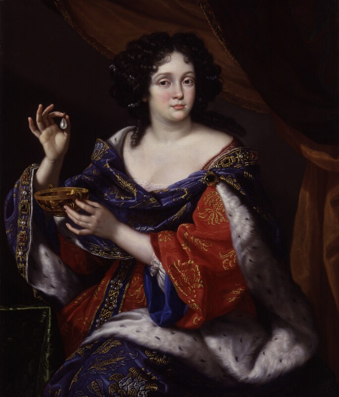 Marie Anne De La Tour d'Auvergne (née Mancini), Duchesse de Bouillon, by Benedetto Gennari, circa 1672-1673 - NPG 623 - © National Portrait Gallery, London