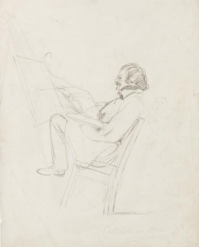 George Cattermole, by Unknown artist,  - NPG 4579 - © National Portrait Gallery, London