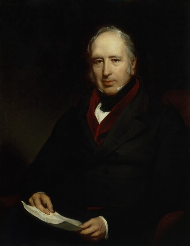 Sir George Cayley, 6th Bt, by Henry Perronet Briggs, 1840 - NPG 3977 - © National Portrait Gallery, London