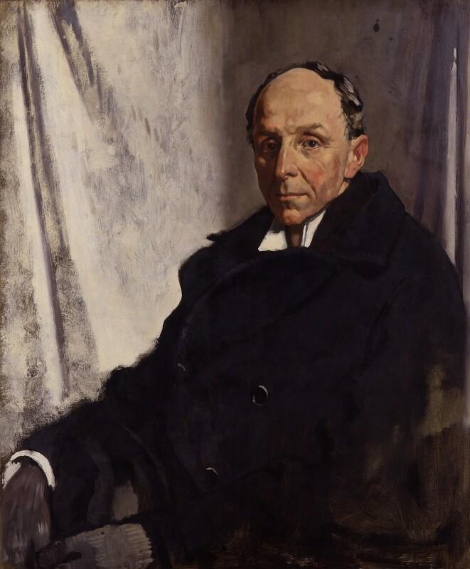 Edgar Algernon Robert Gascoyne-Cecil, 1st Viscount Cecil of Chelwood, by Sir William Orpen, 1919 - NPG 4184 - © National Portrait Gallery, London