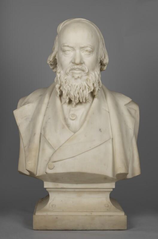 Sir Edwin Chadwick, by Antoine Samuel Adam-Salomon, circa 1863 - NPG 849 - © National Portrait Gallery, London