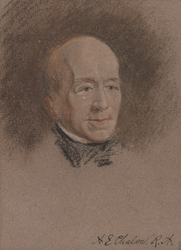 Unknown man, formerly known as Alfred Edward Chalon, by Unknown artist, circa 1810-1850 - NPG 3260 - © National Portrait Gallery, London