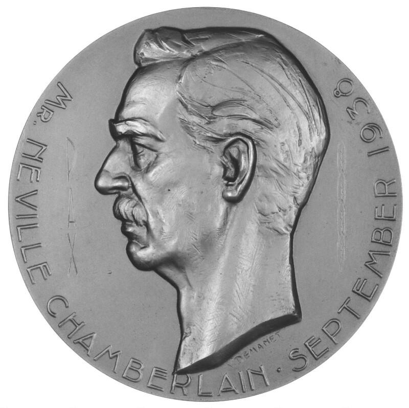 Neville Chamberlain, by Victor Demanet, 1938 - NPG 4268 - Photograph © National Portrait Gallery, London