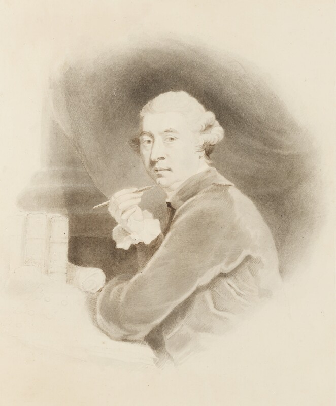 Sir William Chambers, after Sir Joshua Reynolds, probably late 1770s - NPG 3159 - © National Portrait Gallery, London