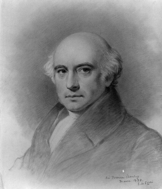 Sir Francis Leggatt Chantrey, by Eden Upton Eddis, 1838 - NPG 1731 - © National Portrait Gallery, London