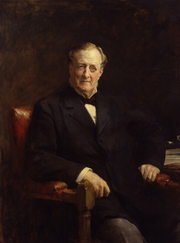 Henry Chaplin, 1st Viscount Chaplin, by Sir Arthur Stockdale Cope, 1908 - NPG 4865 - © National Portrait Gallery, London