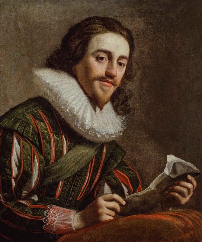 King Charles I, by Gerrit van Honthorst, 1628 - NPG 4444 - © National Portrait Gallery, London
