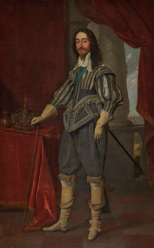King Charles I, by Daniel Mytens, 1631 - NPG 1246 - © National Portrait Gallery, London