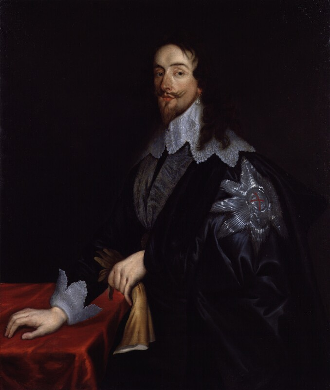 King Charles I, after Sir Anthony van Dyck, based on a work of 1635-1637 - NPG 1906 - © National Portrait Gallery, London