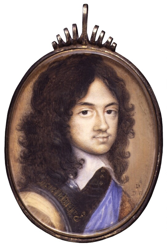 King Charles II, by David Des Granges, after  Adriaen Hanneman, based on a work of 1648 - NPG 6276 - © National Portrait Gallery, London
