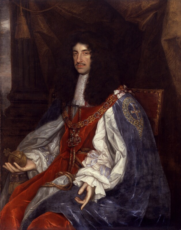 King Charles II, by John Michael Wright, circa 1660-1665 - NPG 531 - © National Portrait Gallery, London