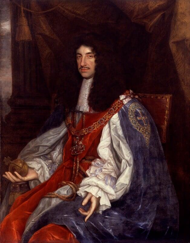 King Charles II, by John Michael Wright, circa 1660-1665 - NPG 531 - © National Portrait Gallery, London