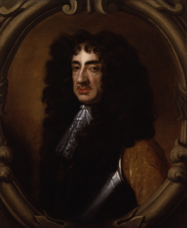King Charles II, after Sir Peter Lely, based on a work of circa 1675 - NPG 153 - © National Portrait Gallery, London