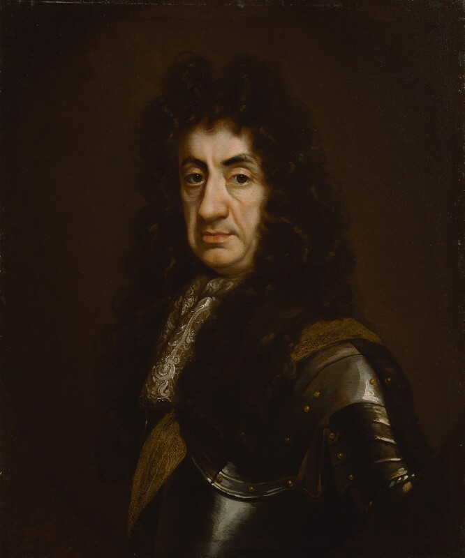 King Charles II, studio of John Riley, circa 1680-1685 - NPG 3798 - © National Portrait Gallery, London