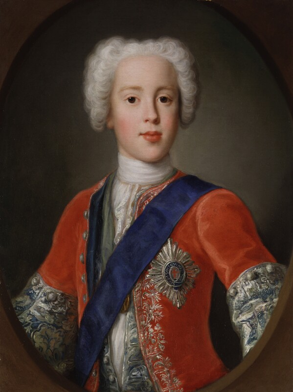 Prince Charles Edward Stuart, studio of Antonio David, circa 1729 - NPG 434 - © National Portrait Gallery, London