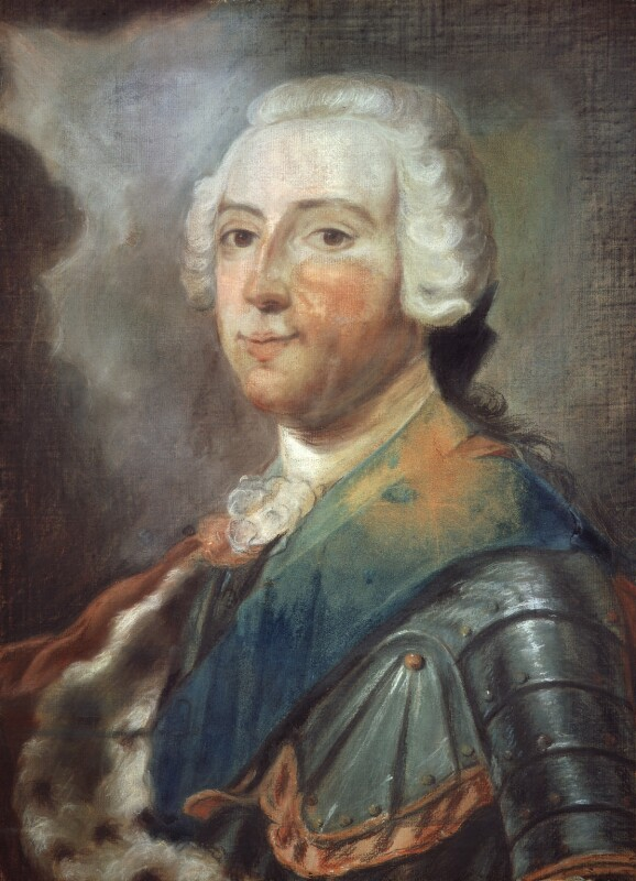 Prince Charles Edward Stuart, after Maurice Quentin de La Tour, mid 18th century, based on a work of 1748 - NPG 2161 - © National Portrait Gallery, London