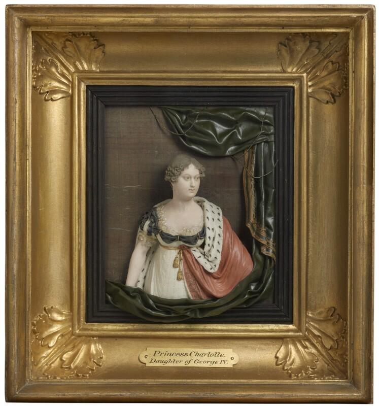 Princess Charlotte Augusta of Wales, by Samuel Percy, 1814 -NPG 3086 - © National Portrait Gallery, London