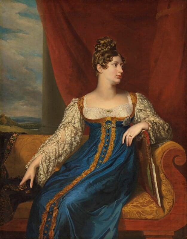 Princess Charlotte Augusta of Wales, by George Dawe, 1817 -NPG 51 - © National Portrait Gallery, London