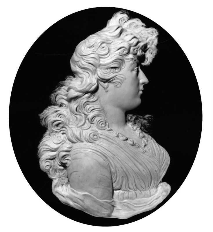 Charlotte Augusta Matilda, Princess Royal, by Peter Rouw, circa 1795 -NPG 2174 - © National Portrait Gallery, London