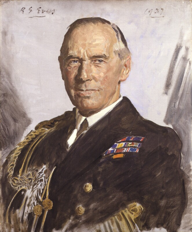 Alfred Chatfield, 1st Baron Chatfield, by Reginald Grenville Eves, 1937 - NPG 4602 - © National Portrait Gallery, London