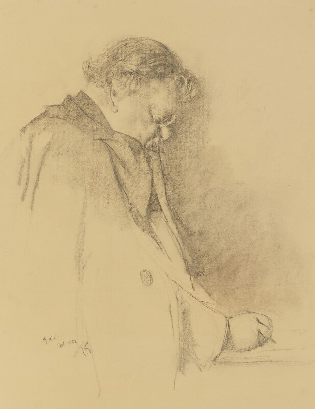 G.K. Chesterton, by Sir James Gunn, 1932 - NPG 3985 - © National Portrait Gallery, London
