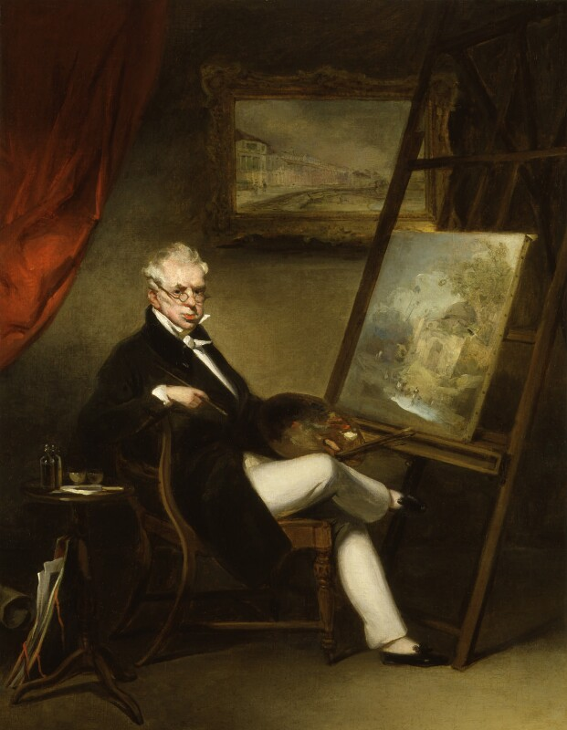 George Chinnery, by George Chinnery, circa 1840 - NPG 779 - © National Portrait Gallery, London