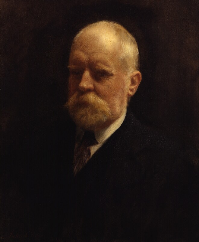 Sir (Mary) Valentine Ignatius Chirol, by John Collier, 1909 -NPG 4271 - © National Portrait Gallery, London