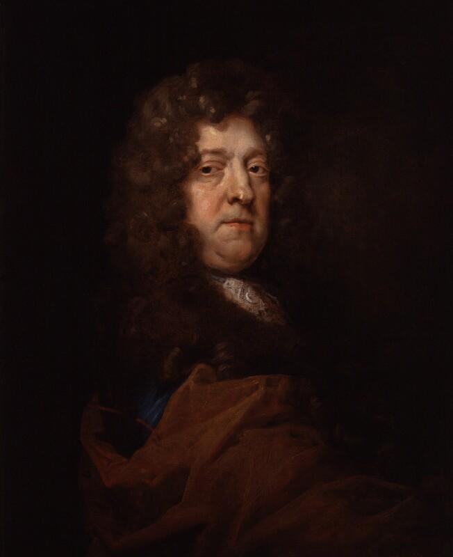 John Cholmley, by Jacob Huysmans, circa 1680 -NPG 2105 - © National Portrait Gallery, London