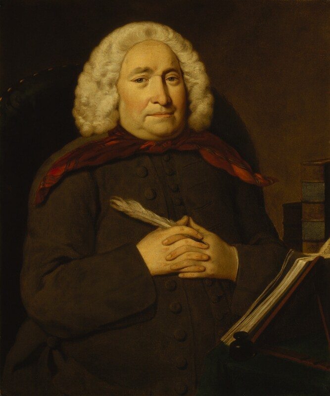 Thomas Chubb, by George Beare, 1747 -NPG 1122 - © National Portrait Gallery, London