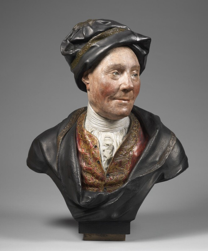 Colley Cibber, possibly from the studio of Sir Henry Cheere, 1st Bt, circa 1740 - NPG 1045 - © National Portrait Gallery, London