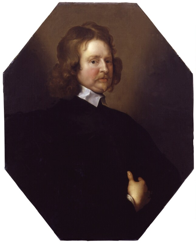 Edward Hyde, 1st Earl of Clarendon, after Adriaen Hanneman, mid 17th century, based on a work of circa 1648-1655 - NPG 773 - © National Portrait Gallery, London