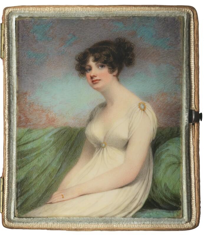 Mary Anne Clarke (née Thompson), by Adam Buck, 1803 - NPG 2793 - © National Portrait Gallery, London