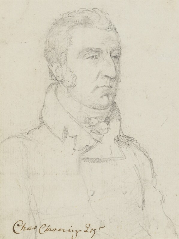 Charles Clavering, by Sir George Hayter, circa 1810 -NPG 883(7) - © National Portrait Gallery, London