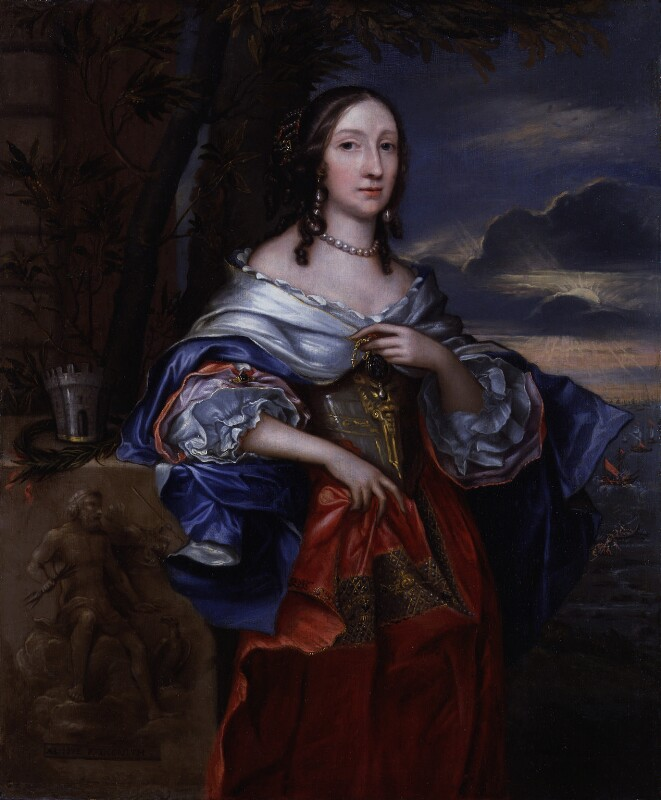Elizabeth Claypole (née Cromwell), by John Michael Wright, 1658 - NPG 952 - © National Portrait Gallery, London