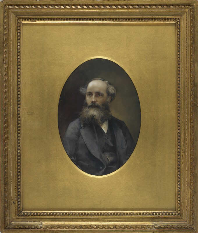 James Clerk Maxwell, after a photograph by Unknown photographer, circa 1870s - NPG 1189 - © National Portrait Gallery, London