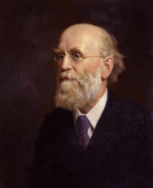 John Clifford, reduced replica by John Collier, 1906-1924, based on a work of 1906 - NPG 2037 - © National Portrait Gallery, London