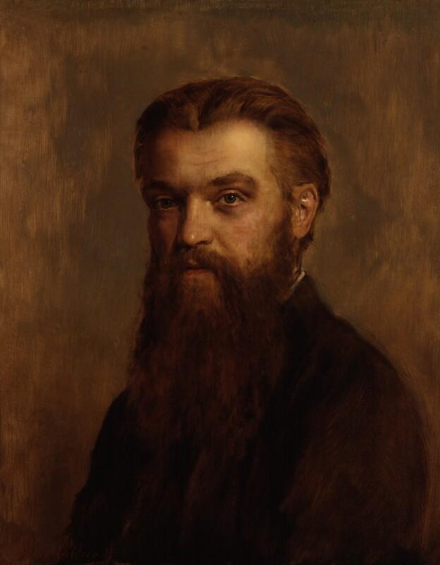 William Kingdon Clifford, reduced replica by John Collier, 1899 - NPG 1231 - © National Portrait Gallery, London