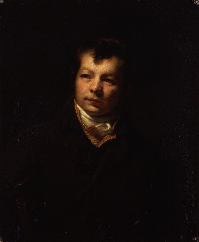 George Clint, by George Clint, circa 1800 -NPG 2064 - © National Portrait Gallery, London