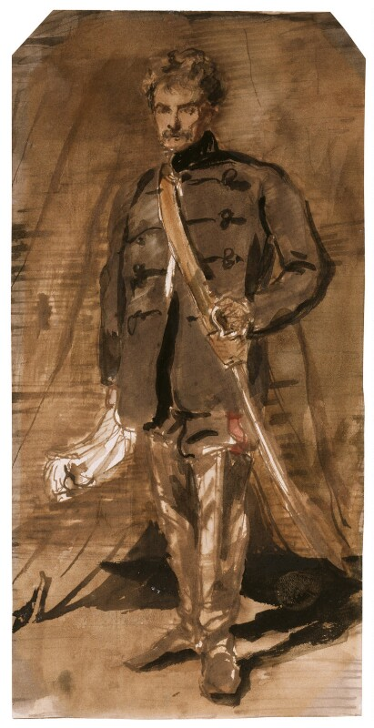 Colin Campbell, 1st Baron Clyde, by Sir Francis Grant, circa 1860 -NPG 619 - © National Portrait Gallery, London