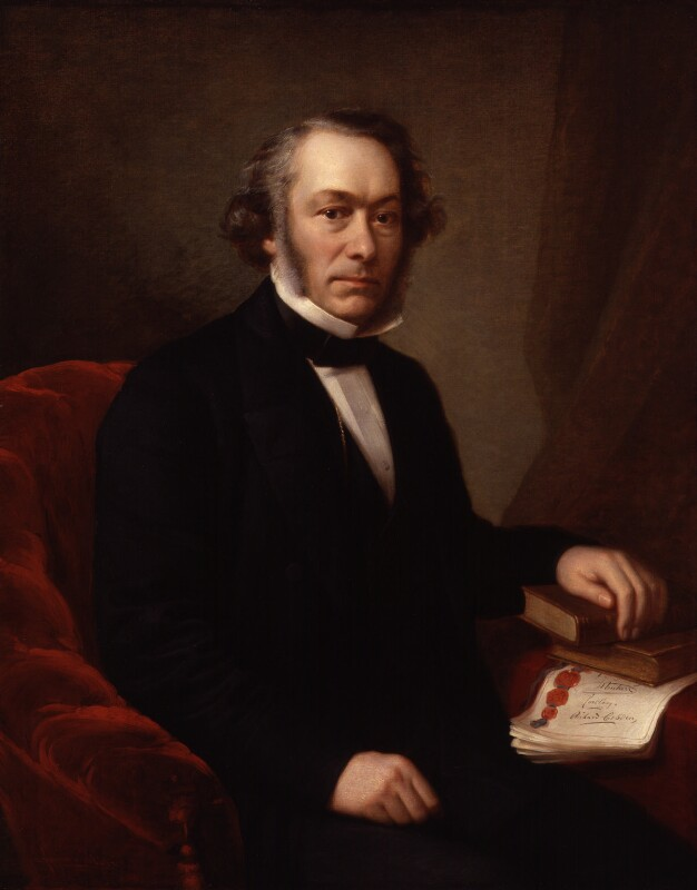 Richard Cobden, replica by Giuseppe Fagnani, 1865, based on a work of 1860-1861 - NPG 201 - © National Portrait Gallery, London
