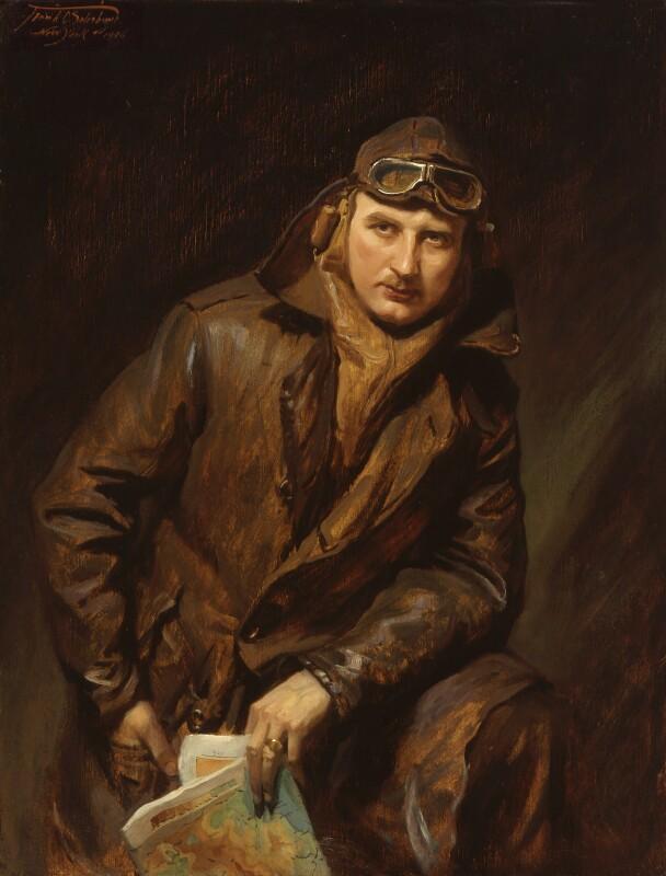 Sir Alan John Cobham, by Francis Owen ('Frank') Salisbury, 1926 - NPG 5018 - © National Portrait Gallery, London