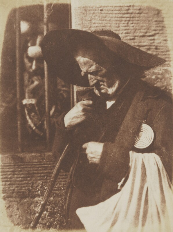 'Edie Ochiltree' (Elizabeth Cleghorn (née Cockburn); John Henning), by David Octavius Hill, and  Robert Adamson, 1843-1848 - NPG P6(151) - © National Portrait Gallery, London