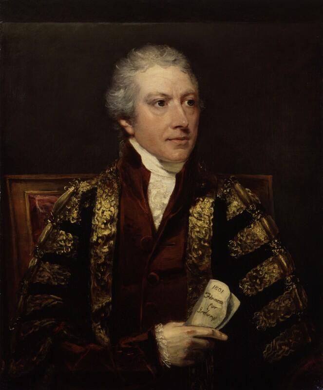 Charles Abbot, 1st Baron Colchester, by John Hoppner, circa 1802 -NPG 1416 - © National Portrait Gallery, London
