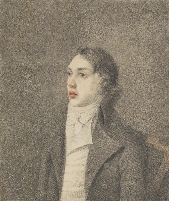 Samuel Taylor Coleridge, by Robert Hancock, 1796 - NPG 452 - © National Portrait Gallery, London