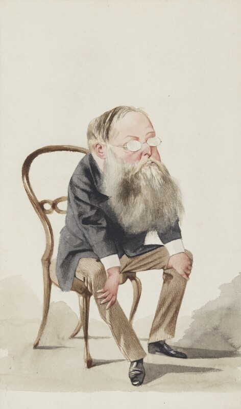 Wilkie Collins, by Adriano Cecioni, published in Vanity Fair 3 February 1872 - NPG 2703 - © National Portrait Gallery, London