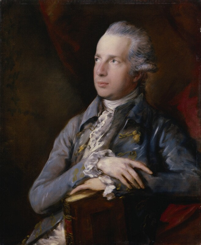 George Colman the Elder, by Thomas Gainsborough, circa 1778 -NPG 59 - © National Portrait Gallery, London