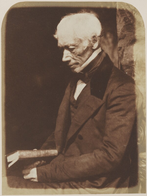 George Combe, by David Octavius Hill, and  Robert Adamson, 1843 - NPG P6(87) - © National Portrait Gallery, London