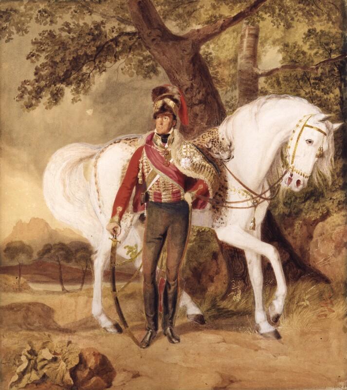 Stapleton Cotton, 1st Viscount Combermere, by Thomas Heaphy, 1817 - NPG 4177 - © National Portrait Gallery, London